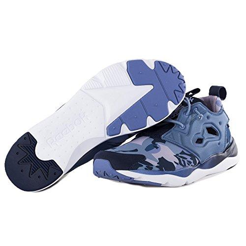 ... Reebok Classic Furylite Candy Girl Schuhe Damen Sneaker Turnschuhe Blau  V68792 Weiß-Blau-Dunkelblau c4aa42d826