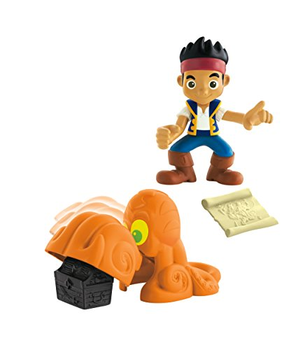 Fisher-Price Disney Jake & the Never Land Pirates, Treasure Snatcher - Jake (Jake And The Neverland Pirates Action Figures)