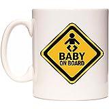 WeDoMugs?? BABY ON BOARD Mug by WeDoMugs