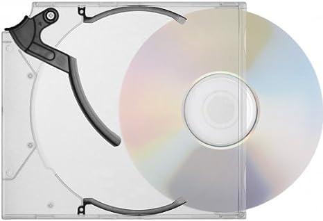 200 Stk Ejector E Slimcase Kickout Case Für 1 Cd Dvd Transparent Schwarz Innovative Medienverpackung Mit Hoher Schutzwirkung Für Ihre Wertvollen Medien Elektronik