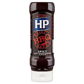 HP Humo De Leña Picante Salsa Barbacoa 470g (Paquete de 6): Amazon.es: Hogar