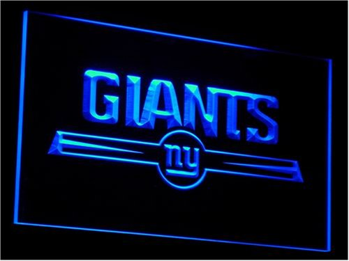 NY New York Giants NFL Football Neon Light Sign by WorldLEDHouse