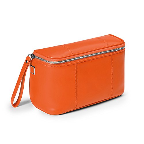 Giorgio Fedon 1919 Italian Leather Toiletry Wash Bag Cosmetic Bag by Giorgio Fedon
