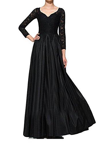 Cocktailkleid Abendkleider Black A Bainjinbai Line Festkleider Brautjungfernkleider Lang BallKleider qFzXaX