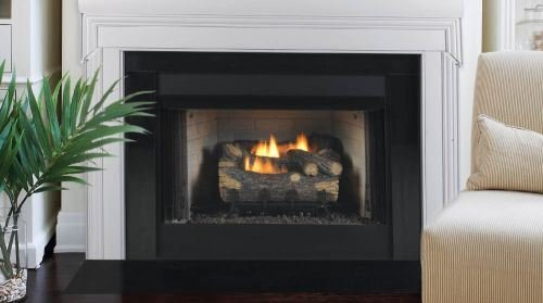Gas Fireplaces Clearance Zero (Monessen Gruf32c-r 32-inch Radiant Face Circulating Vent-free Firebox With Refractory Firebrick)
