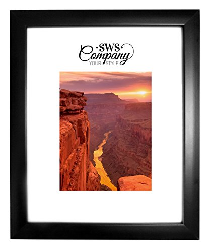 SWS 8x10 Black Picture Frame Wall & Table Top (Frame Wall Wenge)