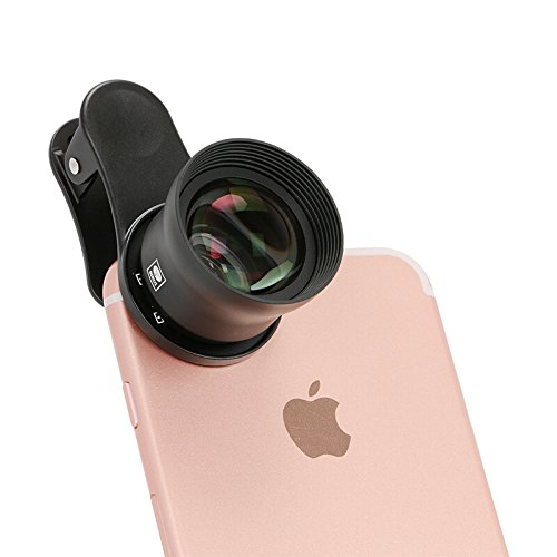 Sirui Smart Phone 60mm Portrait Lens-Multi-Element, German Schott Optical Glass, Scientific Grade Aluminum Housing by Sirui