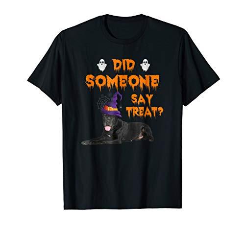 Great Dane Halloween Did Someone Say Treat T-Shirt