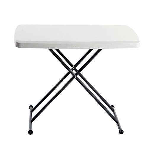 Iceberg IndestrucTable TOO 1200 Series Adjustable Personal Folding Table ()