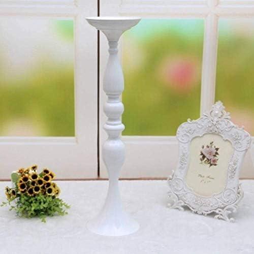 クリスマスキャンドルホルダー50Cm/20ホワイトメタルキャンドルホルダーキャンドルスティックウェディングリードフラワーホーム花瓶、32Cmフラワー花瓶
