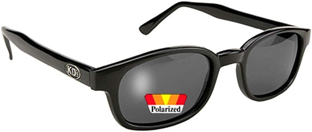 gafas de sol originales KD's Polarizadas Gris 2019 - bikers