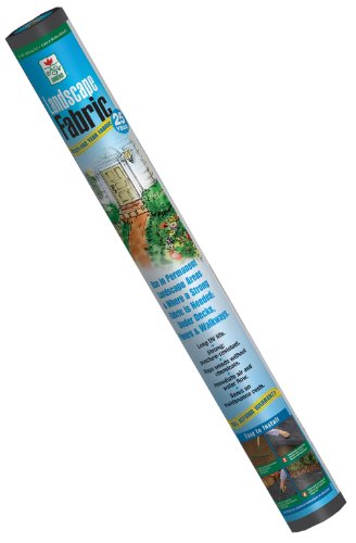 Easy Gardener 22508 4-Foot by 50-Foot 25 Year Landscape Fabric