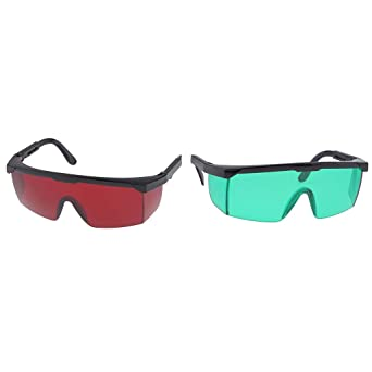 2Pcs Durable Safety Goggles Eye Protection Blue Light Blocking Glasses