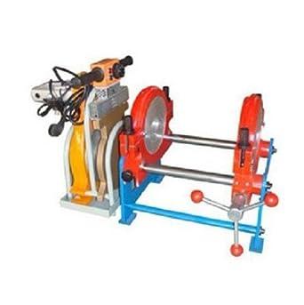 gr-tech Instrumento® 63 mm-160 mm Dos Abrazaderas HDPE buttle Fusion de tubería de soldadura soldador de máquina u 220 V: Amazon.es: Industria, ...