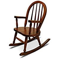 Weaver Craft Childs Rocking Chair Amish Made (Michaels Stain) - Fully Assembled