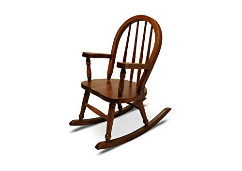 Weaver Craft Child's Rocking Chair Amish Made (Michaels Stain) - Fully Assembled -