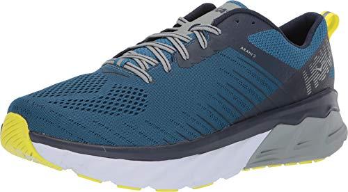 Hoka One 1104097-BSMI: Men's Arahi 3 Blue Sapphire/Mood Indigo Running Sneaker (9.5 D(M) US Men)