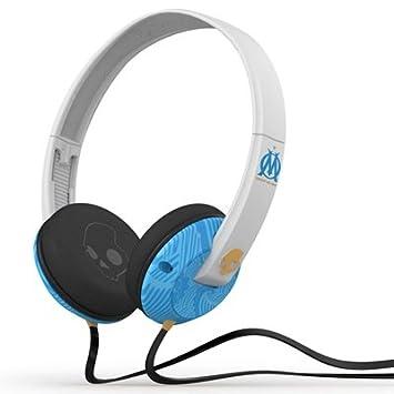 6c9efc8fe40 Olympique de Marseille Skullcandy Uprock Headphones: Amazon.co.uk: Sports &  Outdoors