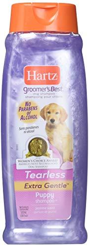 Hartz Groomer's Best Puppy Shampoo, Jasmine Scent 18 oz (Pack of 3)