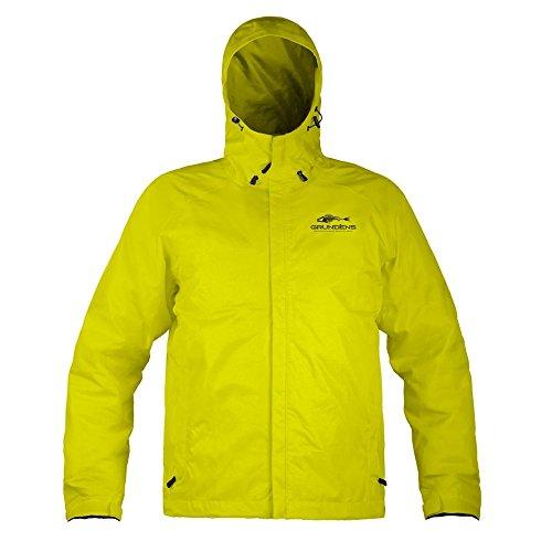 Grunden Men's Gage Weather Watch Jacket, Hi Vis Yellow, (Yellow Commercial Coat)