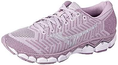 Mizuno Australia Women's Waveknit S1 Running Shoes, Lavender Frost/Cloud/Silver, 6.5 US