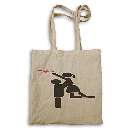 Lieben Sie mich Valentinstag-Paar-lustiges Geschenk Tragetasche d543r