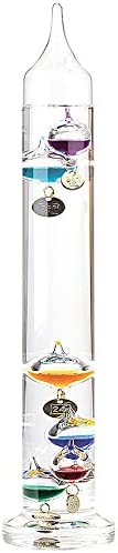 PEARL Galilei Thermometer Maxi Galileo-Thermometer Deluxe Goethe Thermometer