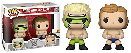 Funko - Figurine WWE- 2-Pack Lex Luger & Surfer Sting Exclu Pop 10cm - 0889698203