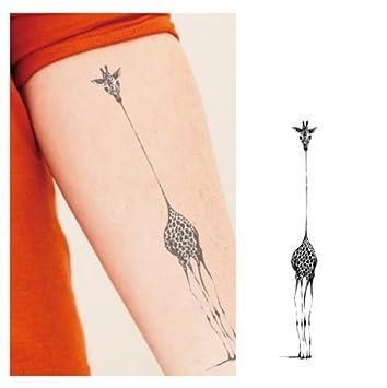 1f2c27e5c Amazon.com : Giraffe Temporary Tattoo, Temporary Tattoo : Beauty