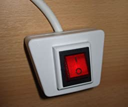 komfort schalter mit 1 8 m kabel wei elektronik. Black Bedroom Furniture Sets. Home Design Ideas