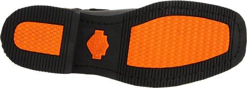 Harley Davidson EL PASO /BLK SHORT HARNESS W/INSIDE ZIP D94422 - Botas de cuero para hombre Negro