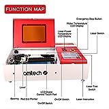 OMTech 40W Laser Engraver and Cutter | K40 Desktop