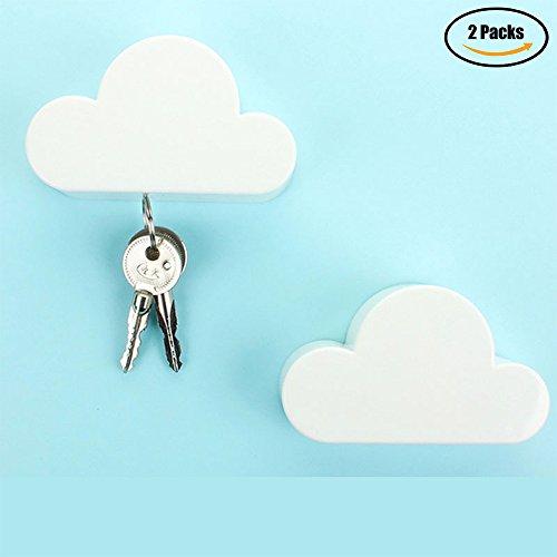 Magnetic Key Hooks Organizer Wall Mounted, Creative Novelty