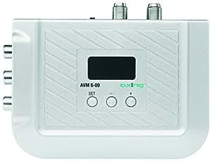 Axing AVM 6-00 - Modulador de audio y vídeo estéreo VHF/UHF con visor LED