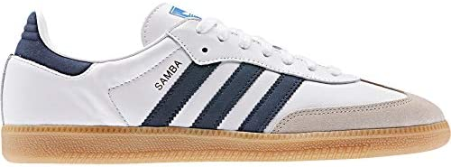 release date new authentic new products accessible à la machine ici adidas samba og chaussures blanc bleu ...