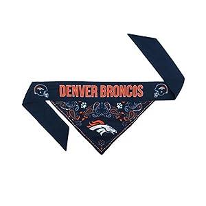 NFL Denver Broncos Pet Bandanna, Medium