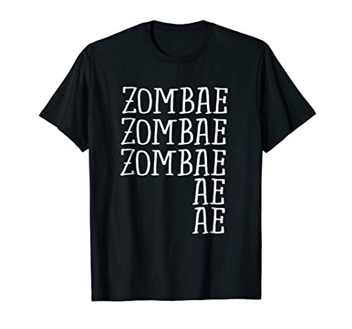 Funny Zombies Zombae Halloween Costume In Your Head Shirt -