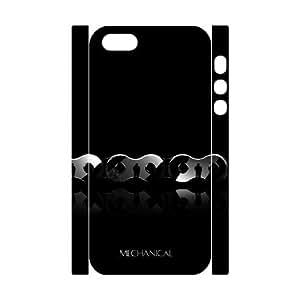 3D Pharrel Chain iPhone 5,5S Cases chain 3, Men Chain, {White}