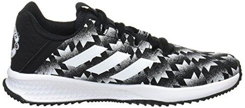 adidas Rapidaturf MUFC K, Zapatillas de Deporte Unisex Niños Varios colores (Negbas / Ftwbla / Negbas)