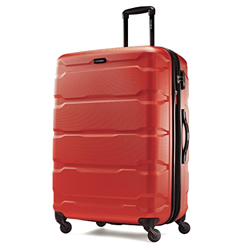Samsonite Omni PC Hardside Spinner 28, Burnt Orange, One Size