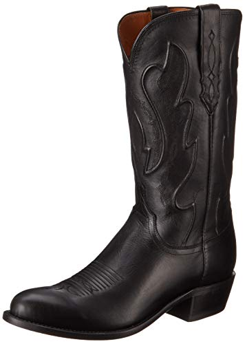 Image of Lucchese Bootmaker  Men's Cole-Tan Ranch Hand Riding Boot