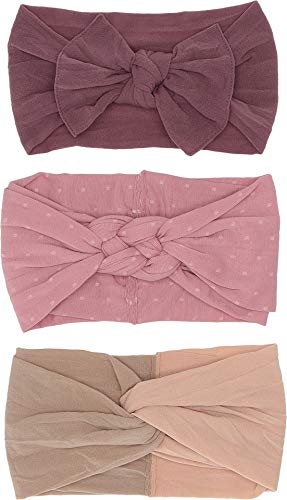Baby Bling Baby Girl's The Three Amigas (Infant/Toddler) Lilac Mauve Blush One Size (Bling Bow)