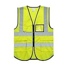 Gabkey Reflective Clothing, Day and Night Safety Vest