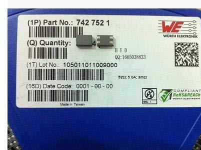 Maslin WE Manufacturers EMI Filter Beads, Chokes & Arrays 7427521 100MHZ 34R 5A