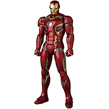 Medicom MAFEX IRON MAN MARK45 AVENGERS AGE OF ULTRON ABS & ATBC-PVC painted figure