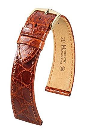 Hirsch Gen.Croco M 18mm Lederband