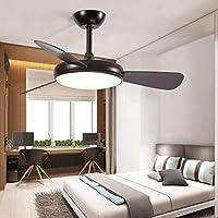 Ventilador de techo Hermosa Luz De Ventilador LED De Techo Luz ...