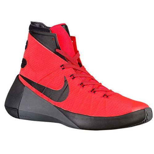 f07051d2341310 sale galleon nike mens hyperdunk 2015 basketball shoes bright crimson red  black 749561 600 size 8.5