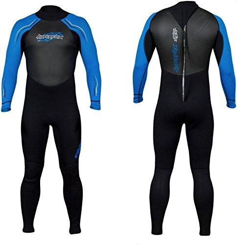 Hyperflex AXS 3/2mm Full Wetsuit - Black - XXL (item# HYPAXSFULL-BK)