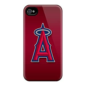 Iphone 6 Ulo3148DttF Unique Design Lifelike Los Angeles Angels Skin Scratch Protection Cell-phone Hard Covers -PhilHolmes
